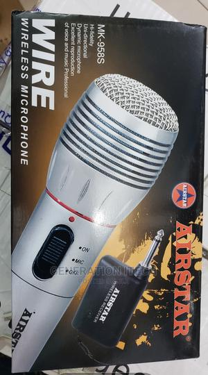 Wireless Microphone -Airstar -Single With Reciever   Audio & Music Equipment for sale in Kampala