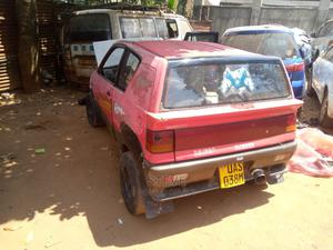 Suzuki Swift 1989 1.3 Red | Cars for sale in Kampala, Central Division
