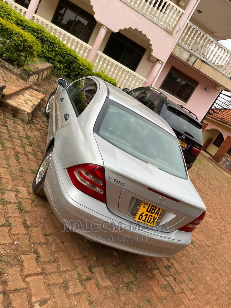 Mercedes-Benz C180 2004 Silver | Cars for sale in Kampala, Uganda