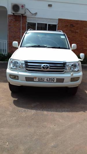 Toyota Land Cruiser Prado 2006 White   Cars for sale in Kampala