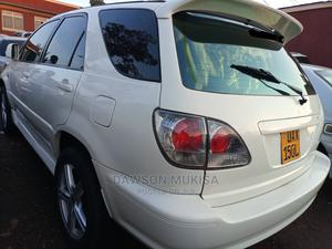 Toyota Harrier 2001 White   Cars for sale in Kampala