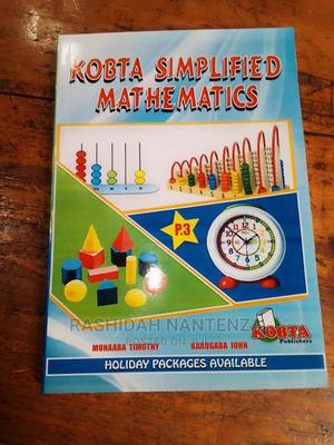 Kobbta Simplified Mathematics Peoples Book Three.   Books & Games for sale in Kampala