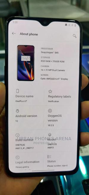 OnePlus 6T 256 GB Black | Mobile Phones for sale in Kampala