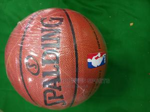 Basketball Spalding Brown Size 5 | Sports Equipment for sale in Kampala, Central Division