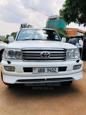 Toyota Land Cruiser Cygnus 2006 4.7 White | Cars for sale in Kampala