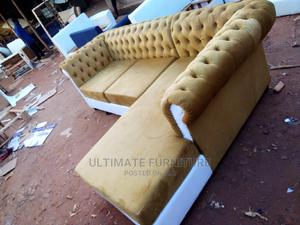 L Chesterfill Sofa Chair   Furniture for sale in Kampala