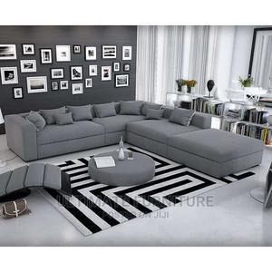 Gray L Sofa Chair | Furniture for sale in Eastern Region, Jinja