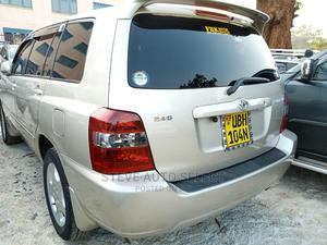 New Toyota Kluger 2007 Silver   Cars for sale in Kampala