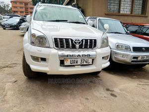 Toyota Land Cruiser Prado 2005 White | Cars for sale in Kampala
