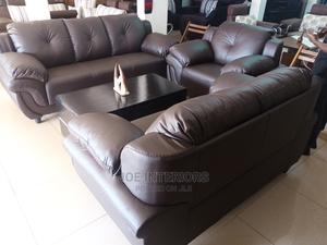Quality Six Seater Leather Sofa Set | Furniture for sale in Kampala