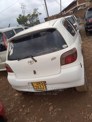 Toyota Vitz 1999 White | Cars for sale in Kampala