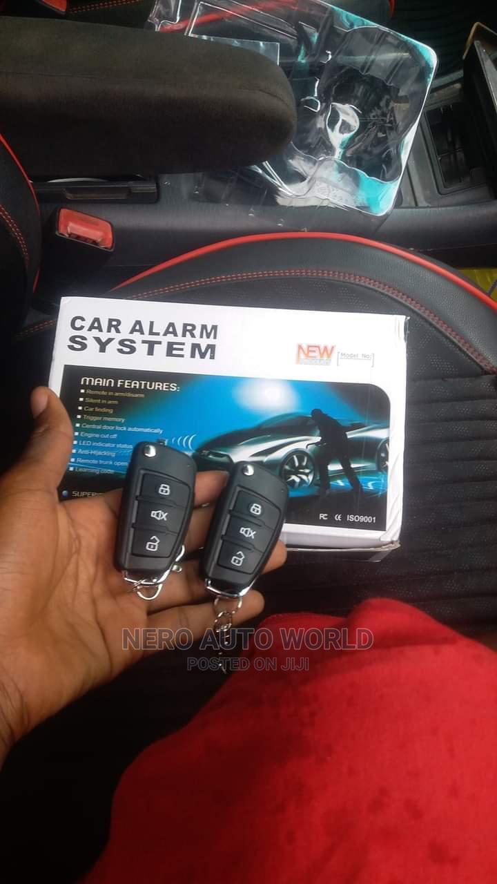 New Car Alarms