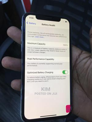 New Apple iPhone X 64 GB Silver   Mobile Phones for sale in Kampala