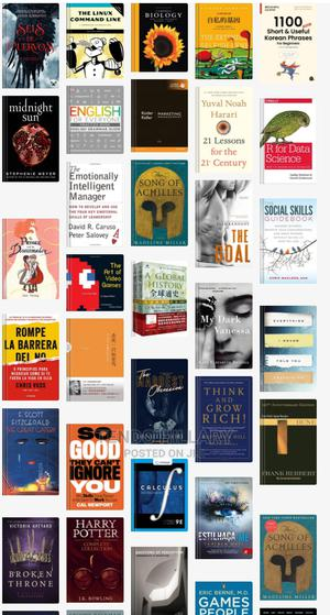All Types of Ebooks | Books & Games for sale in Kampala