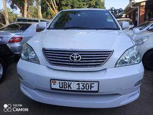 Toyota Harrier 2007 White | Cars for sale in Kampala