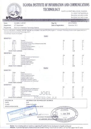 Information Computer Technology ICT | Computing & IT CVs for sale in Kampala