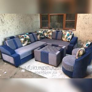 A Set of Sofa Set With Table | Furniture for sale in Kampala