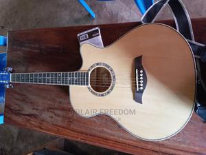 Amplified Acoustic Guitar +Pack of Strings+2 Picks+Strap+Bag | Musical Instruments & Gear for sale in Western Region, Bushenyi