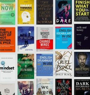 I Sell E-Books of Any Kind. Contact Me for Any Book | Books & Games for sale in Western Region, Kanungu