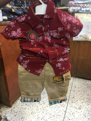 Boy Shorts and Shirt | Children's Clothing for sale in Kampala