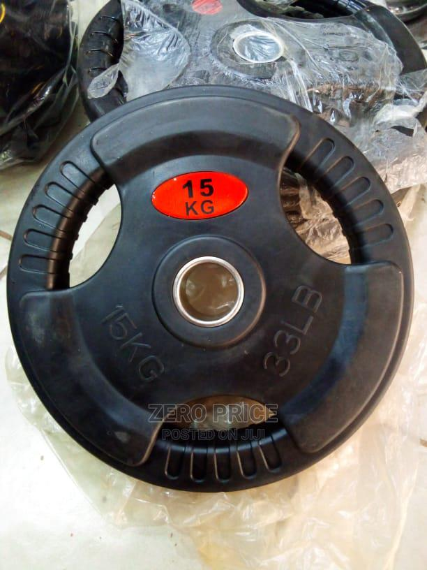 Weight Plates in Different Sizes   Sports Equipment for sale in Kampala, Uganda