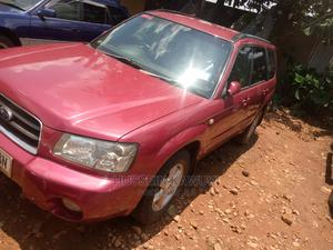 Subaru Forester 2004 Red   Cars for sale in Kampala
