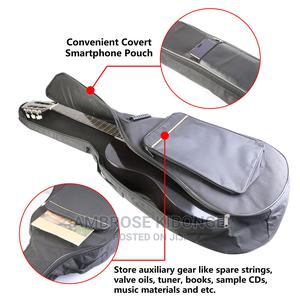 Black Guitar Soft Bag Fit Acoustic Guitar Padded Straps Case | Musical Instruments & Gear for sale in Kampala, Central Division