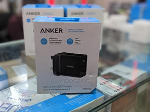 Anker 24w Charger Double Port | Accessories for Mobile Phones & Tablets for sale in Kampala