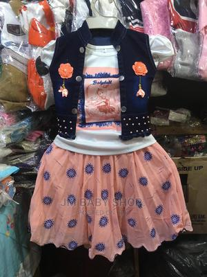 Girl Fancy Skirt With to and Coat | Children's Clothing for sale in Kampala, Central Division