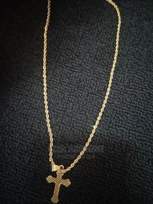 Men's Authentic and Nice Chain's (Unisex) With Cross Pendant   Jewelry for sale in Kampala, Central Division
