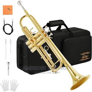 Standard Golden Trumpet Set With Hard Case | Musical Instruments & Gear for sale in Kampala, Central Division