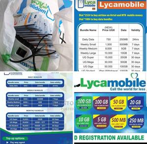 Lycamobile Simcards and Mifis   Accessories for Mobile Phones & Tablets for sale in Kampala, Central Division