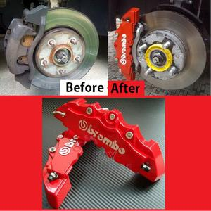 4pcs Red Brake Caliper Covers | Vehicle Parts & Accessories for sale in Kampala, Central Division