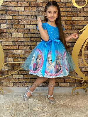Frozen Dress | Children's Clothing for sale in Kampala