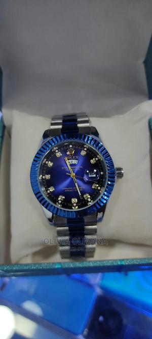 Cute Blue Silver Rolex Watch [Available] | Watches for sale in Kampala, Central Division