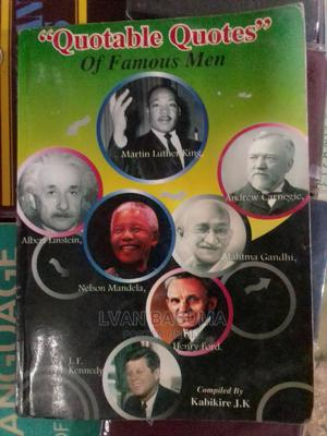 Quotable Quotes of Famous Men Book | Books & Games for sale in Kampala, Central Division