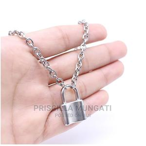 Silver Padlock Necklace   Jewelry for sale in Kampala, Central Division