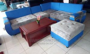Lshape Fabric Sofa Set Brand New   Furniture for sale in Kampala, Central Division