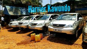Toyota Harrier 2006 2.4 Gray   Cars for sale in Kampala, Central Division