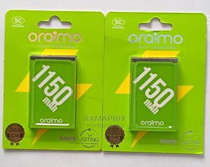 Original Oraimo Batteries. 5C | Accessories for Mobile Phones & Tablets for sale in Kampala, Rubaga