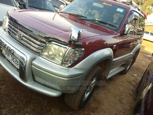 Toyota Land Cruiser Prado 1999 Red   Cars for sale in Kampala, Central Division