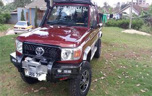 Toyota Land Cruiser 2012 4.0 V6 DSL Red | Cars for sale in Kampala, Central Division
