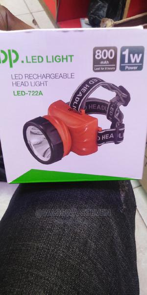 Rechargeable LED Head Torch / Head Light | Camping Gear for sale in Kampala, Central Division