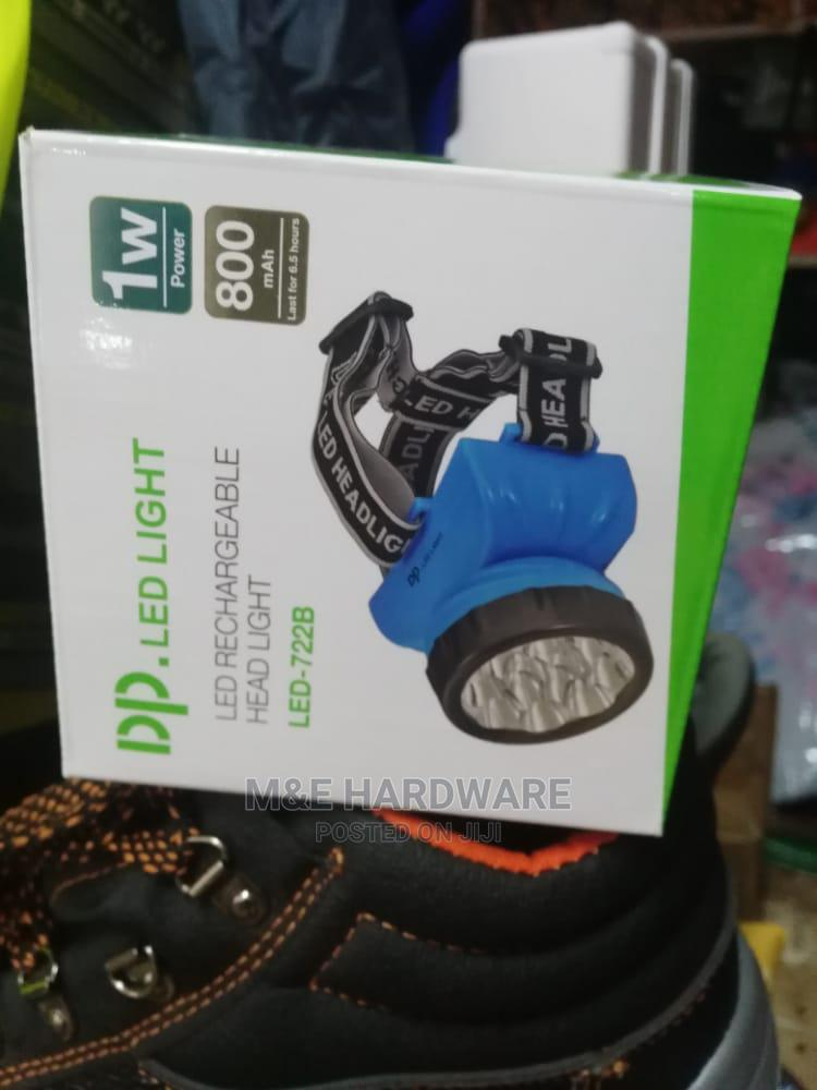 Rechargeable LED Head Torch