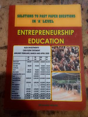 Entrepreneur Education - UNEB A'' Level Past Papers | Books & Games for sale in Kampala, Central Division