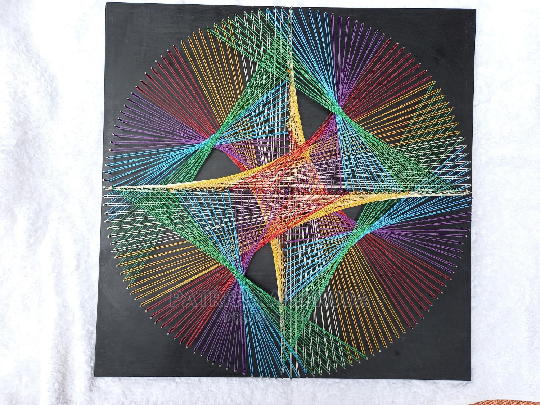 MC String Art Piece