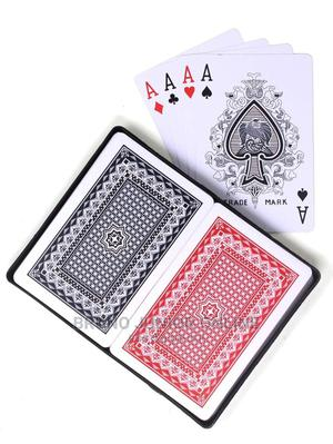 Plastic Casino Playing Cards 2pcs Set | Books & Games for sale in Kampala, Central Division