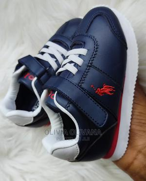 Polo Shoe (Blue White) | Children's Shoes for sale in Kampala, Central Division