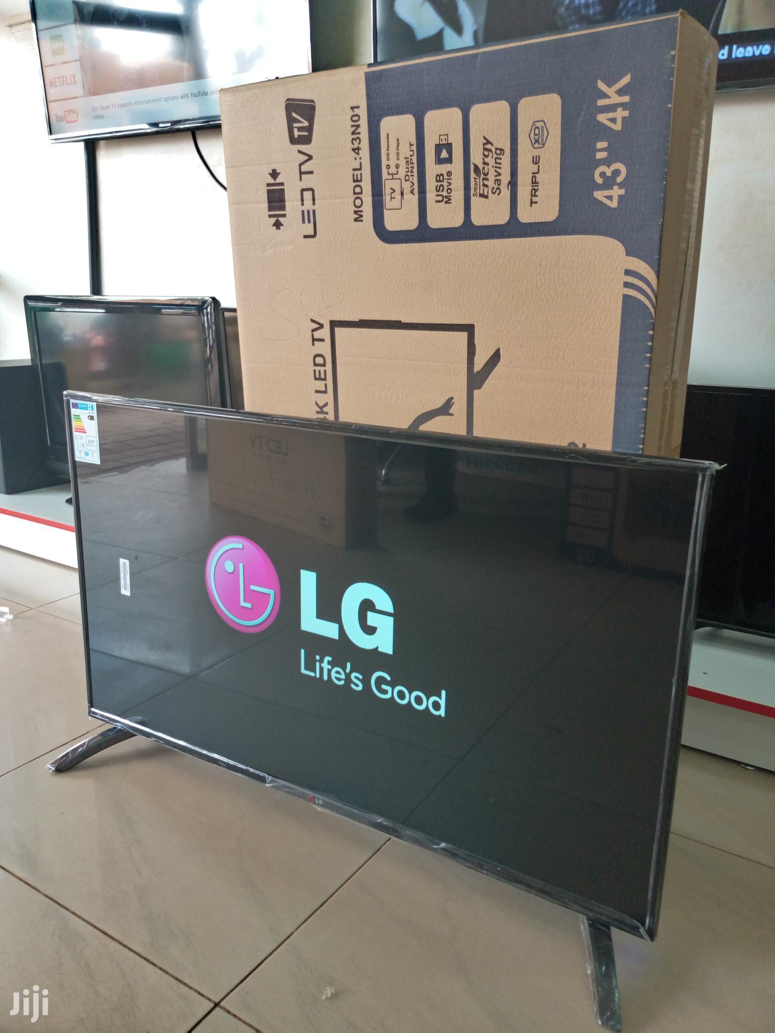 43 Inches Led Lg Flat Screen Digital
