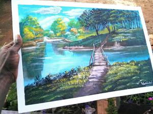 Landscape Painting | Arts & Crafts for sale in Wakiso, Gombe